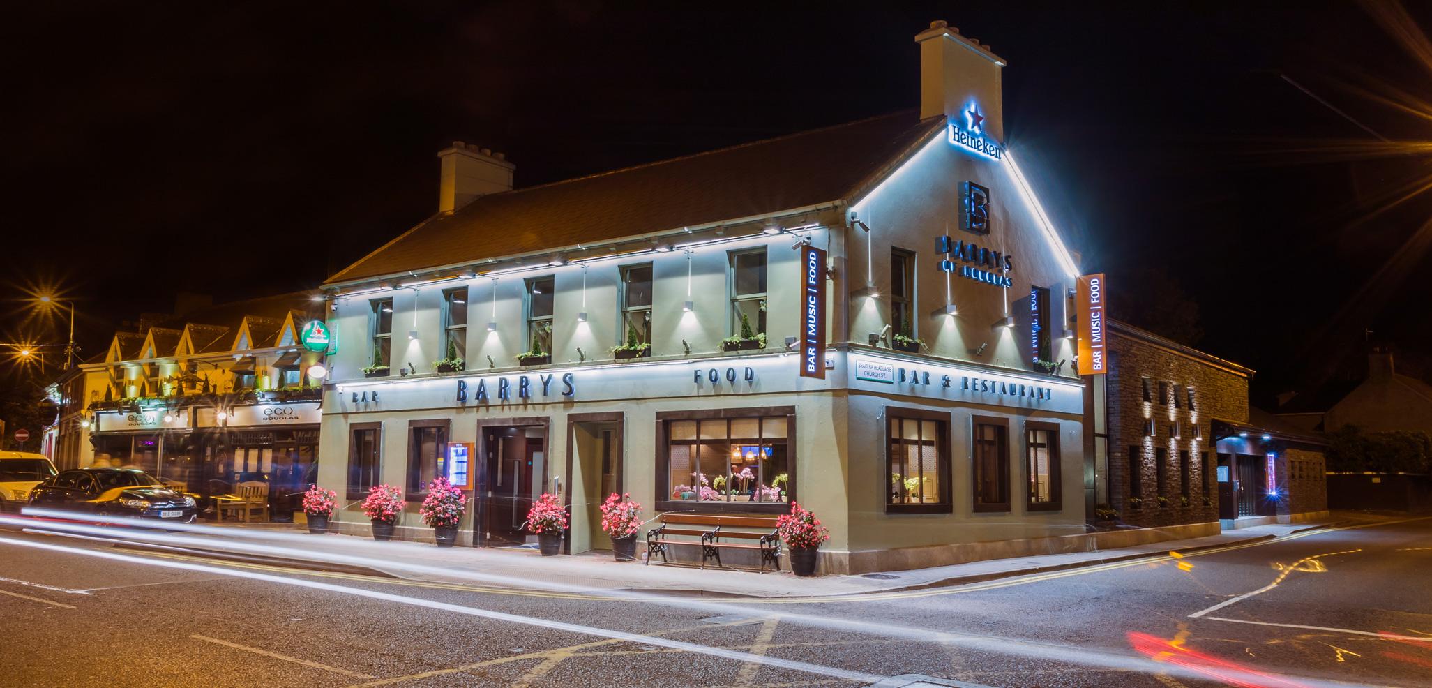Barrys of Douglas Bar & Restaurant Situated in Douglas, Cork City