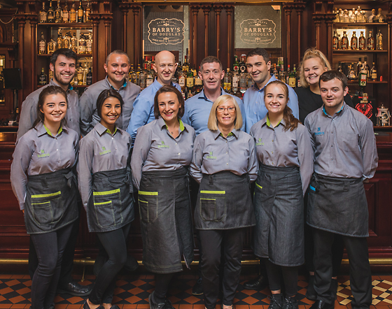 Barry's Bar and Restaurant Staff